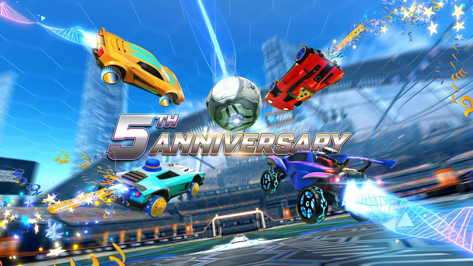 RL 5th anniversary
