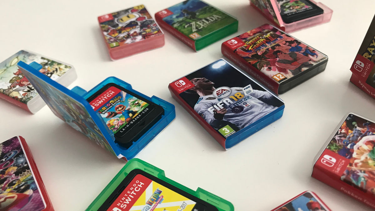 switch game boxes