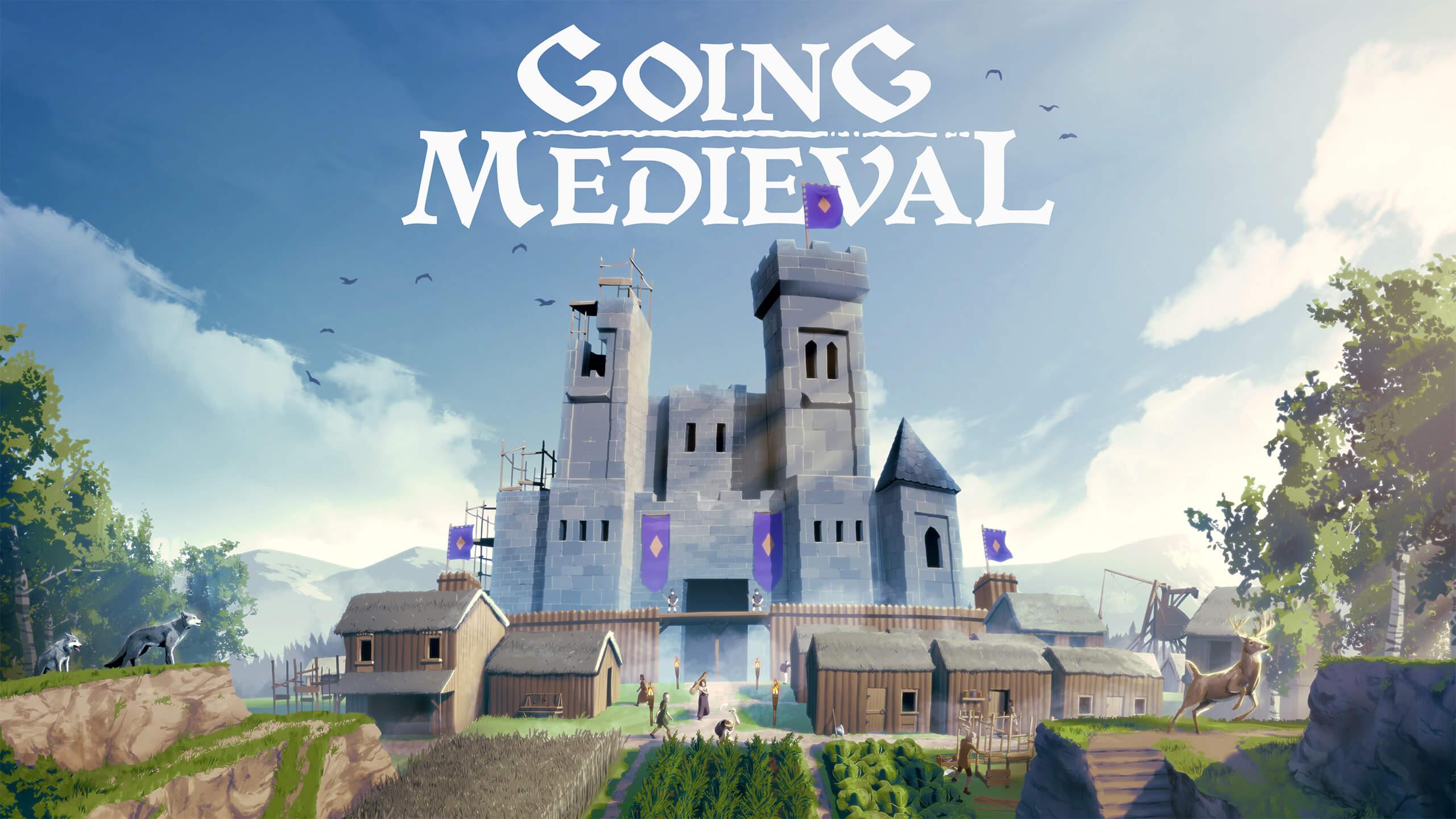 Going Medieval key art