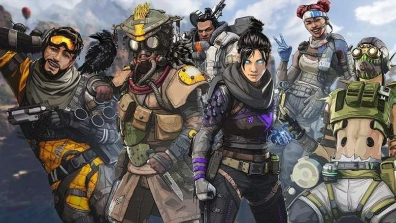 Apex Legends characters, seen here in a promotional image