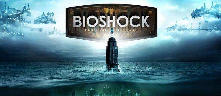 Promotional art for BioShock: The Collection