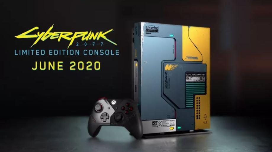 cyberpunk console