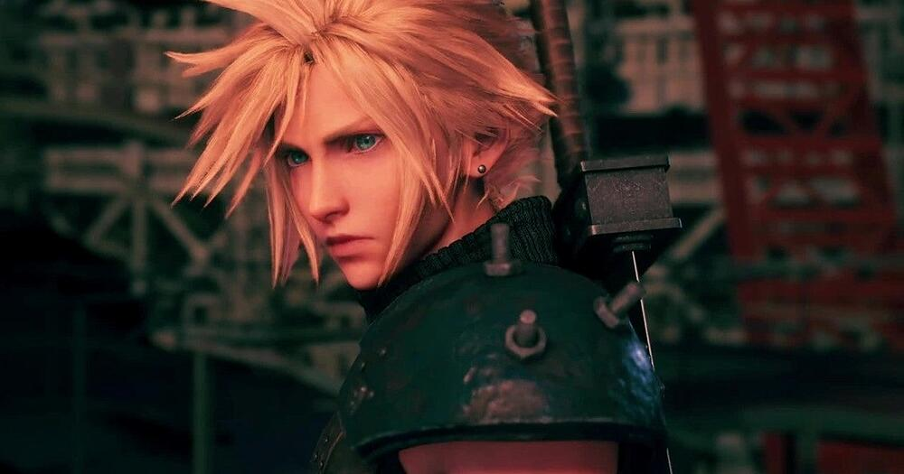 A screenshot from the remake of Final Fantasy 7