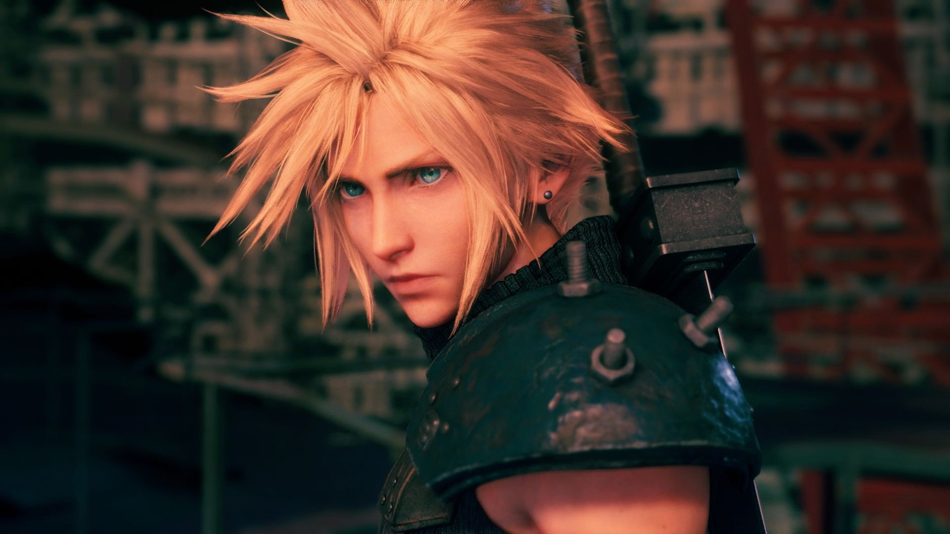 A screenshot from Final Fantasy VII Remake