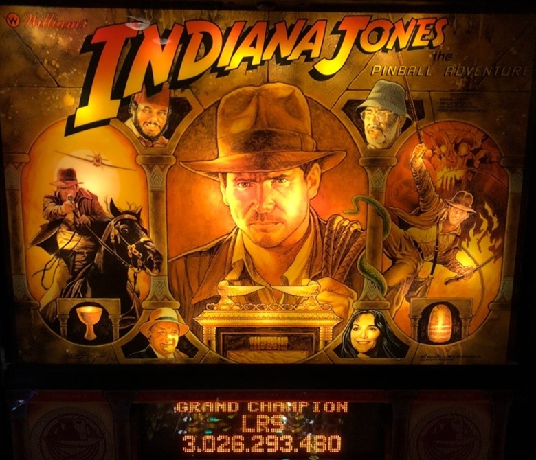 indianna jones pinball