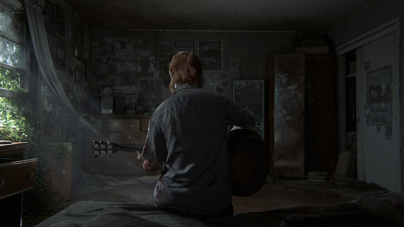A screenshot from The Last of Us Part II