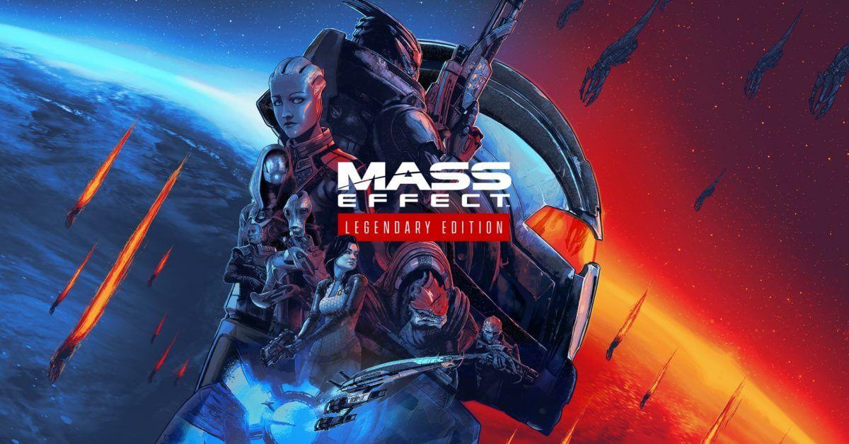 mass effect legendary edition key art