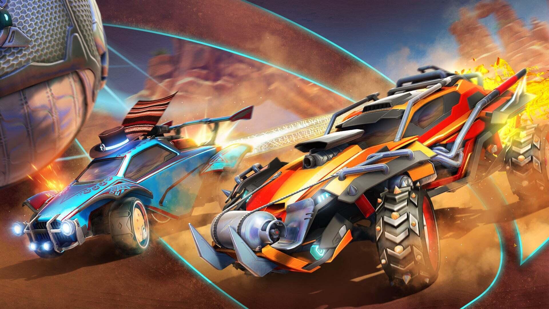 A promotional image for Rocket League Season 4
