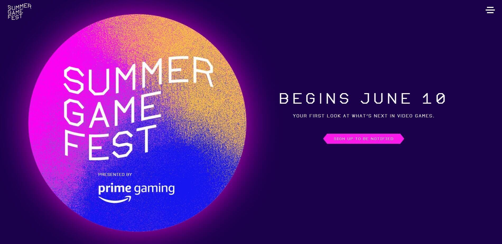 summer game fest-2021