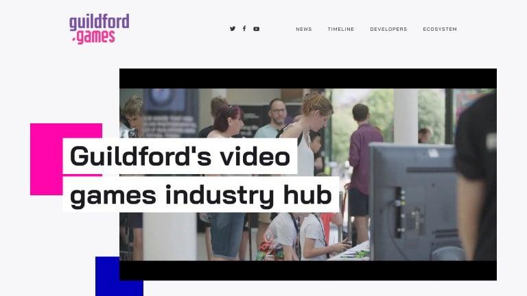 Guildford.Games website
