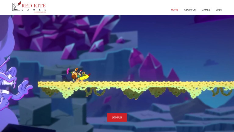 Red Kite Games website