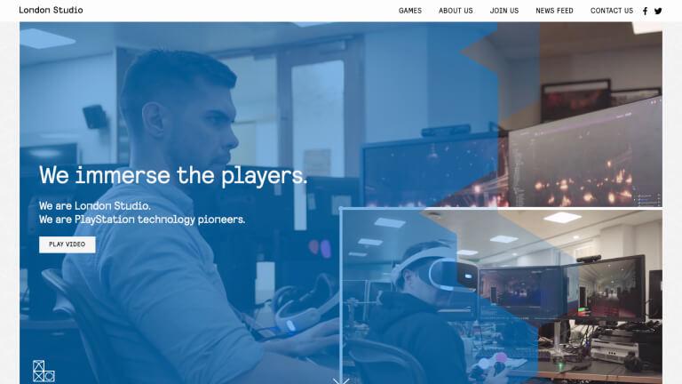 Sony London Studio website