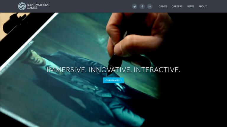 Supermassive Games website