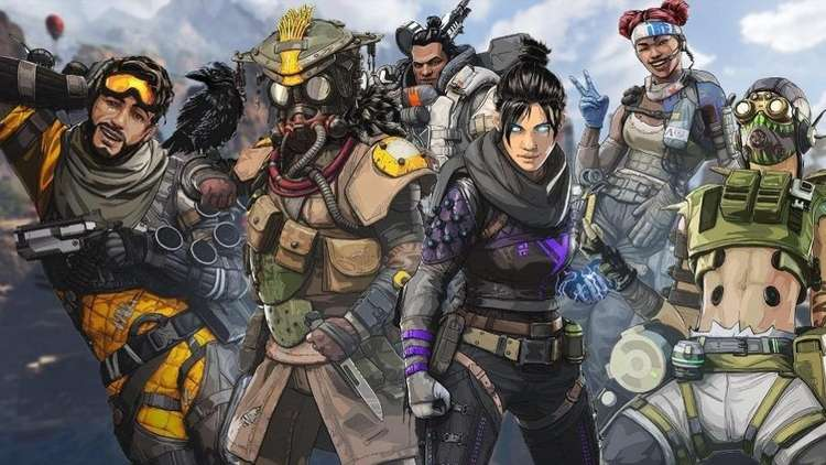 An image featuring the characters of Apex: Legends