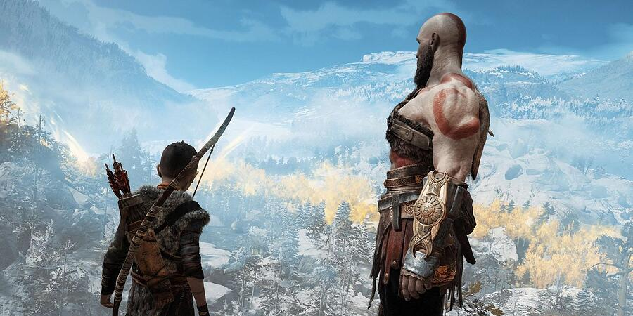 The ending to God of War