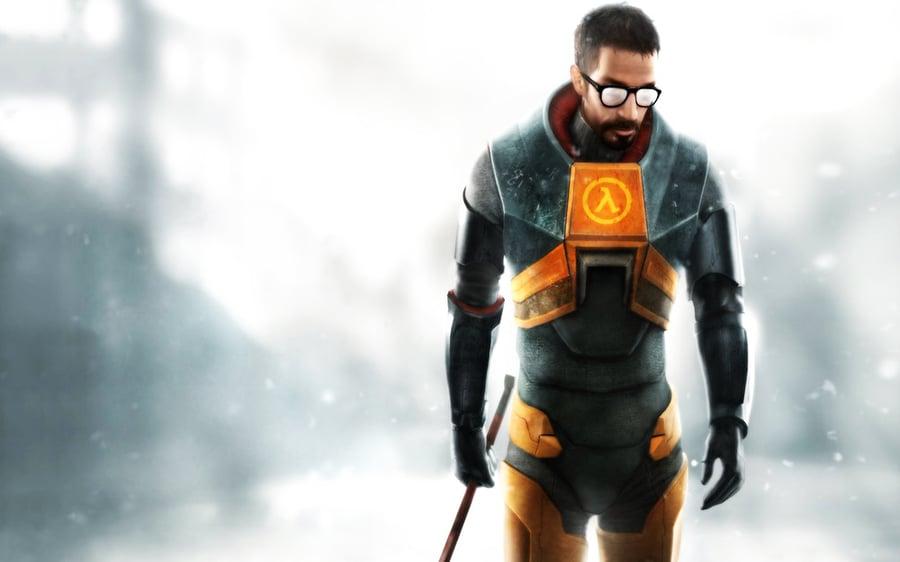 Gordon Freeman, the protagonist of Half-Life