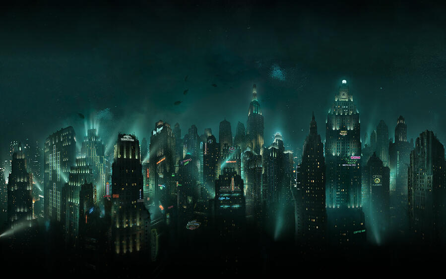 Rapture, the setting for Bioshock
