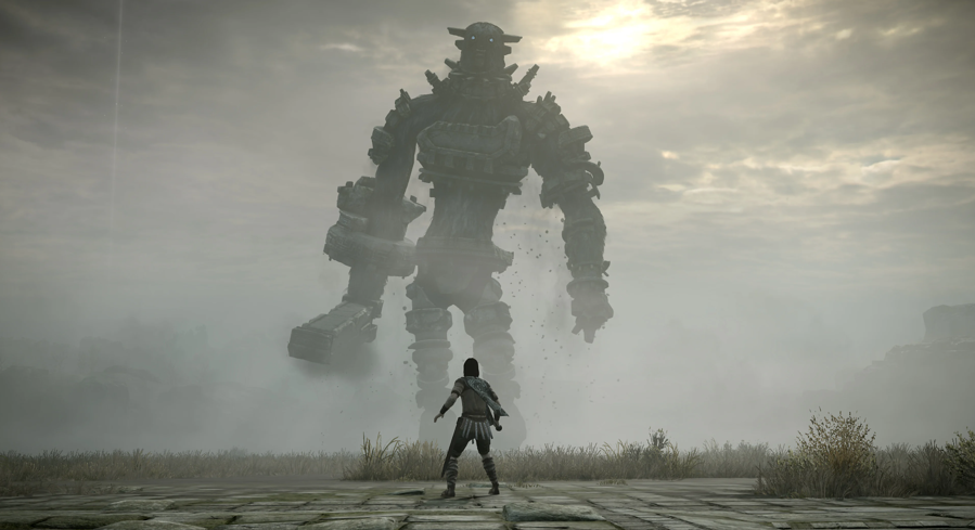 A screenshot of Shadow of the Colossus