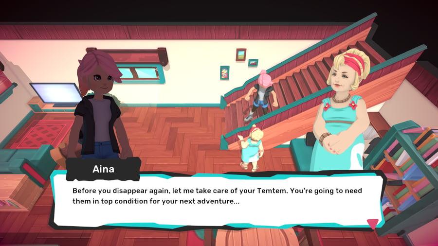 A screenshot from Temtem (2020)