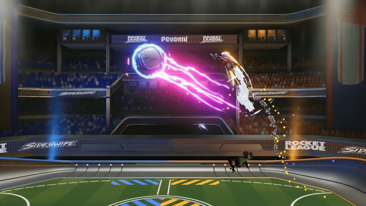 Screenshot from Rocket League Sideswipe