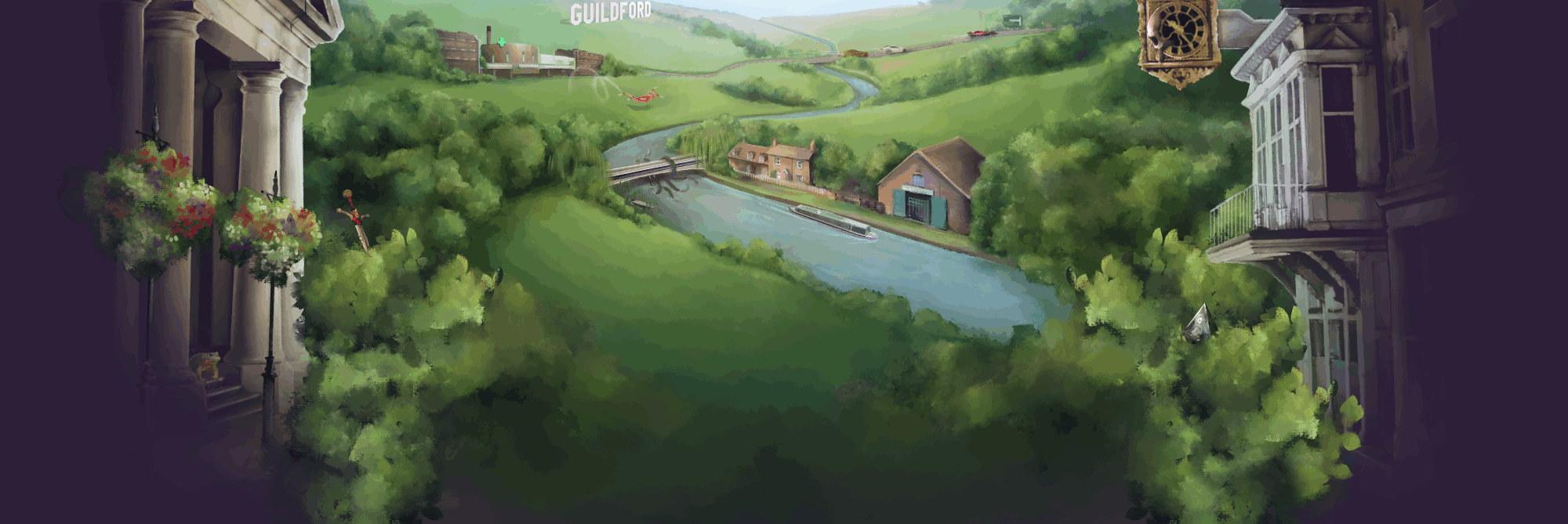Guildford Games Artwork