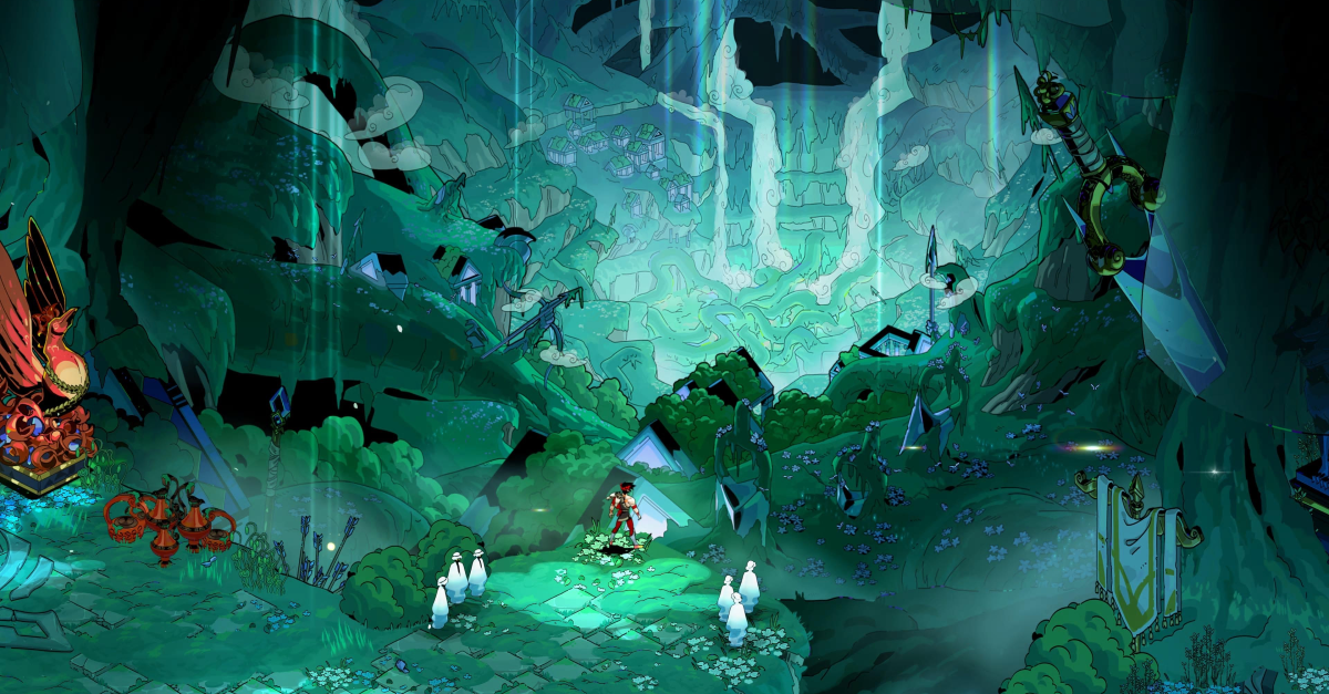 A screenshot from Hades