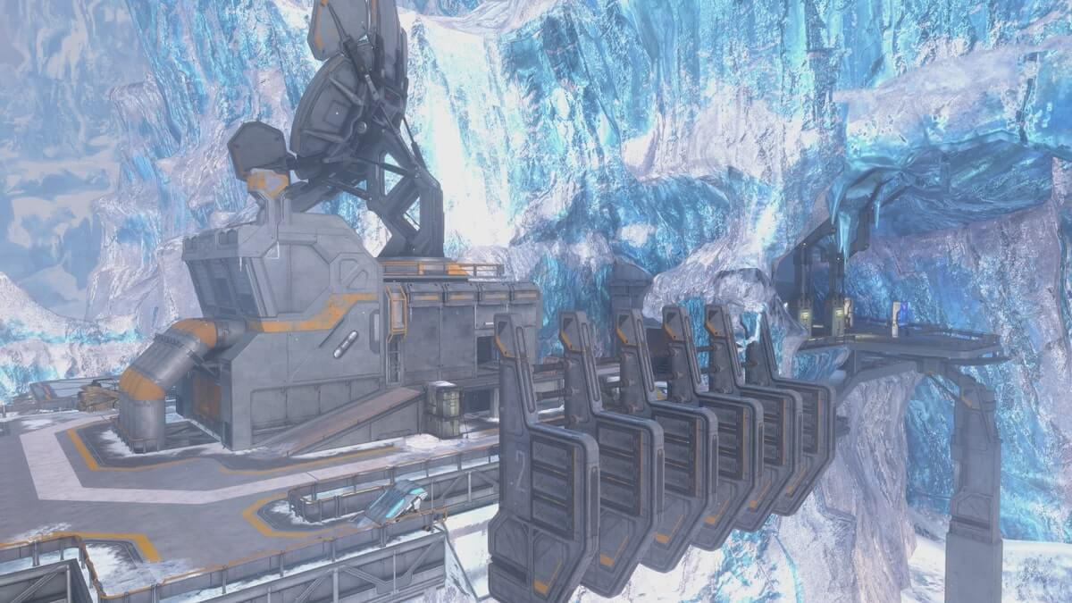 Halo Waterfall map image