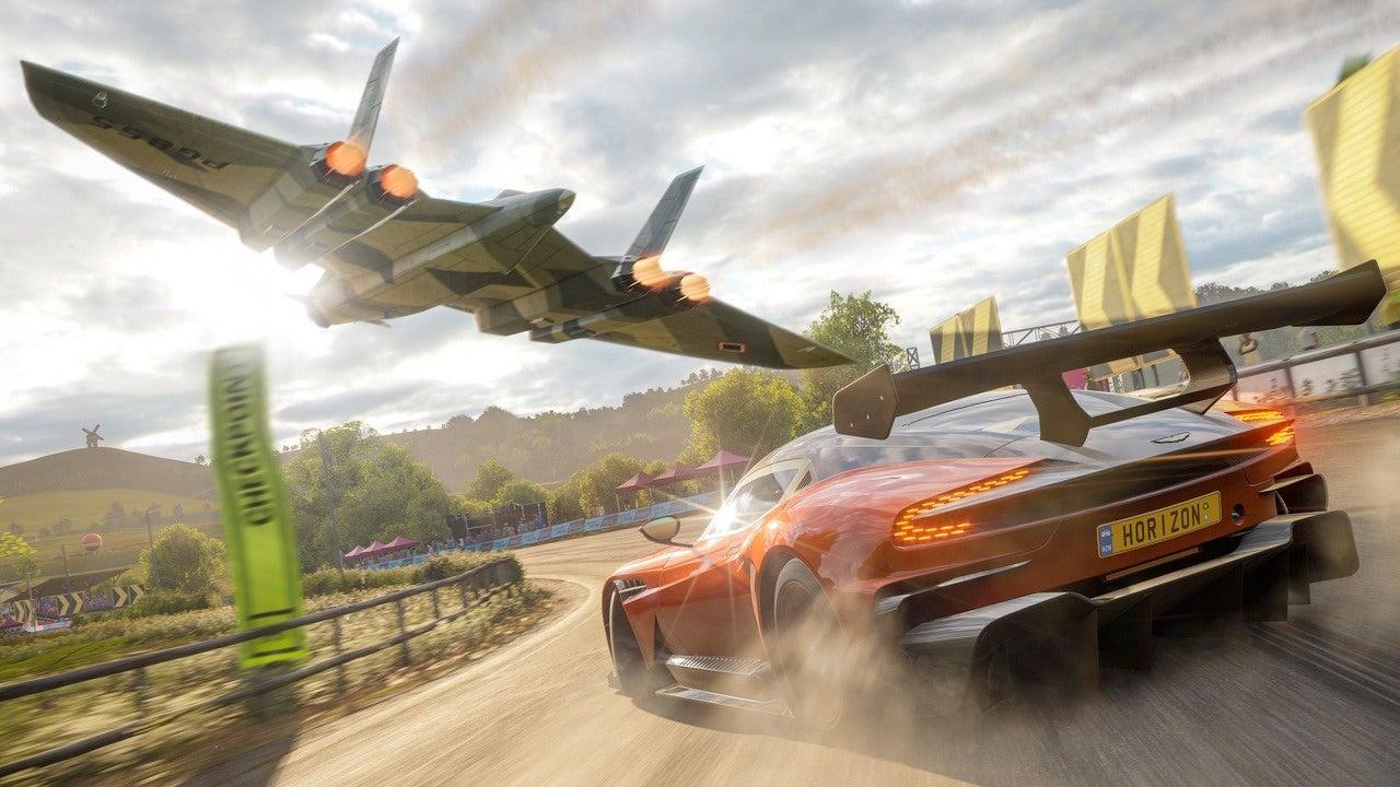 A screenshot from Forza Horizon 4