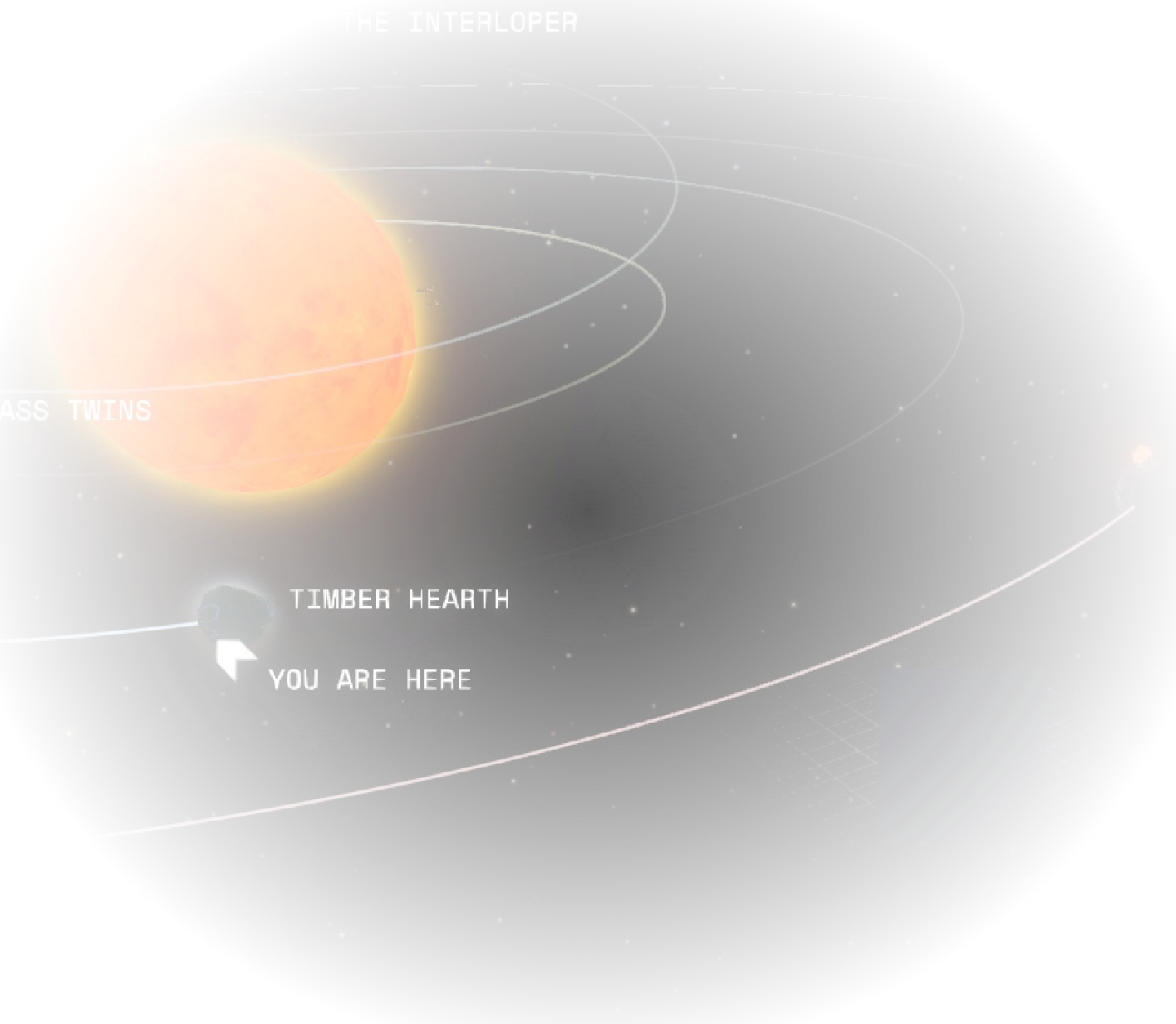The Outer Wilds solar system