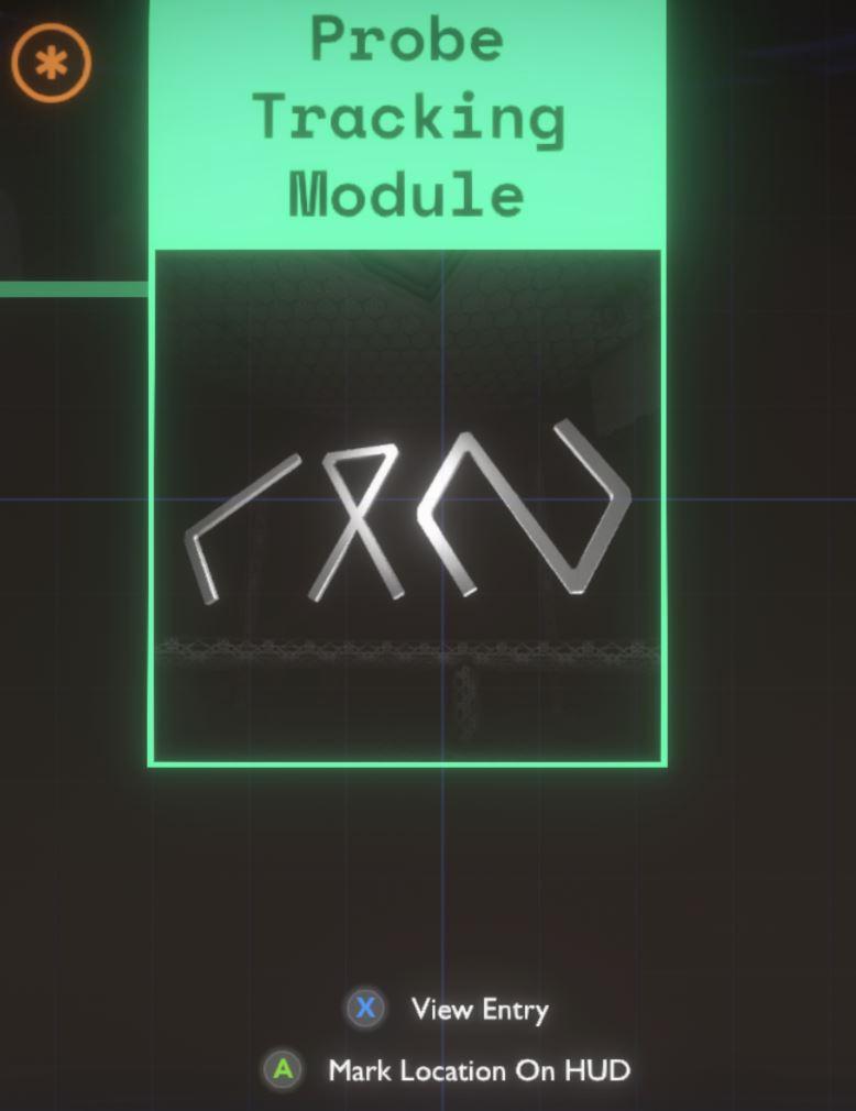 A screenshot of the Outer Wilds Ship Log rumour mode