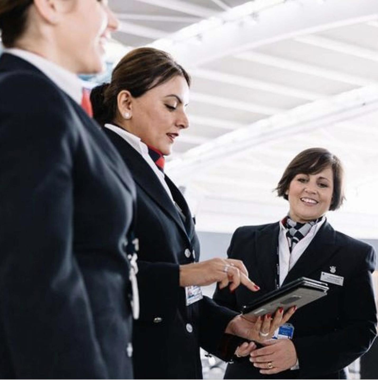 British Airways case study staff picture